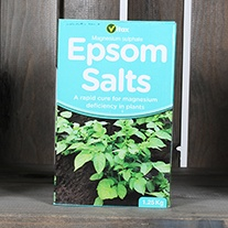 Magnesium Sulphate (Epsom Salts) Fertiliser 1.25kg