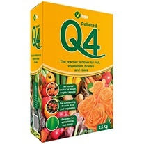 Q4 Pelleted Fertiliser 2.5kg
