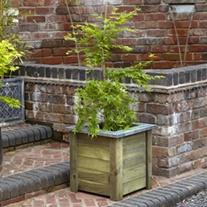 Cambridge Wooden Planter 50 x 50cm