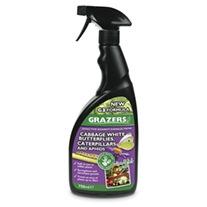 Grazers Cabbage Caterpillars & Aphids Deterrent Spray