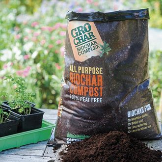 Carbon Gold GroChar All Purpose Compost 20ltr