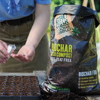 Carbon Gold GroChar Seed Compost 8ltr