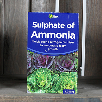 Sulphate of Ammonia Nitrogen Fertiliser 1.25kg