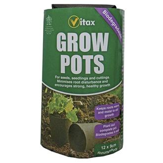 Grow Pots - round 9cm