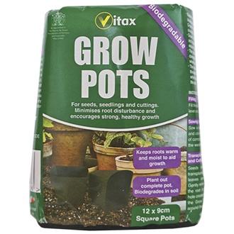 Grow Pots - square 9cm