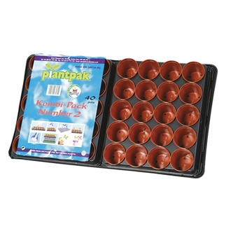 Seed and Cutting Tray Kombi Pack 40 pots