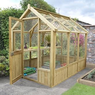 Vale Greenhouse 8x6