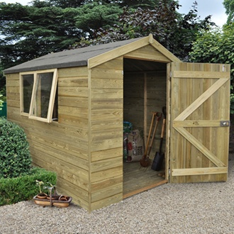 8 x 6 Apex Shed