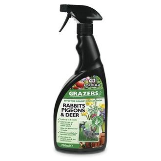 Grazers Grazing Animals Deterrent Spray