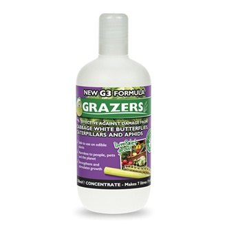Grazers Cabbage Caterpillars & Aphids Deterrent Concentrate