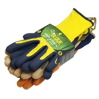 Glove Triple pack - Male Medium