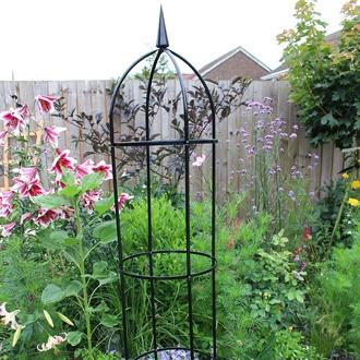Steel Garden Obelisk