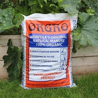 Orgro Concentrated Manure Fertiliser