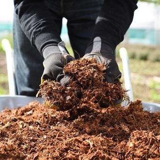 Coco Grow Pure Coir Chip Mulch 60ltr
