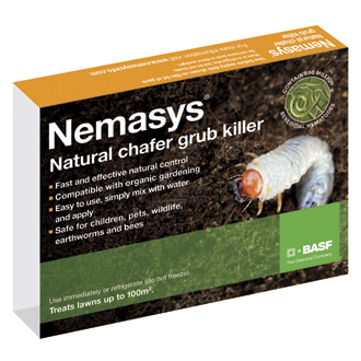 Nemasys® Biological Chafer Grub Killer 100m²