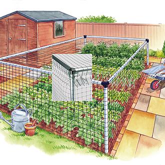 Standard Vegetable Cage 12'x18'