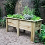 Deep Root Wooden Planter 1.8m