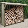 Flip Roof Large Log Store