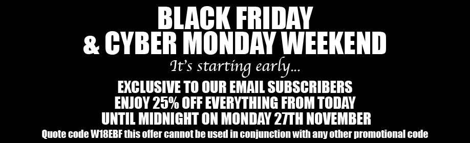 Black Friday & Cyber Monday Offer